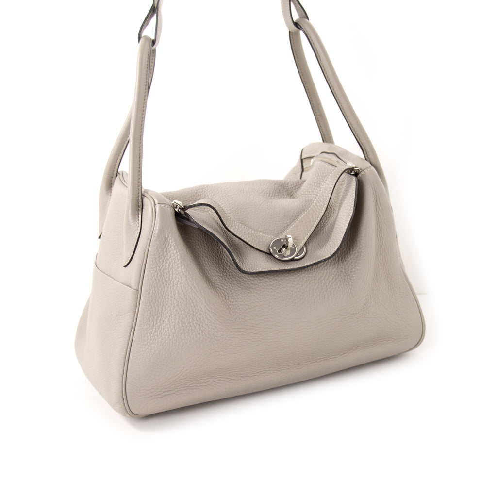Hermès Lindy 34 Gris Clemence Bags Hermès - Shop authentic new pre-owned designer brands online at Re-Vogue