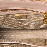 Prada Saffiano Lux Double Zip Small - revogue