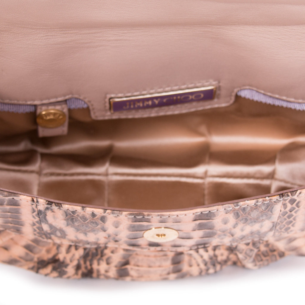 Jimmy Choo Snake Skin Bag Bags Jimmy Choo - Shop authentic new pre-owned designer brands online at Re-Vogue