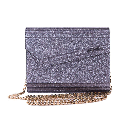 Chanel Crackled Frame Clutch