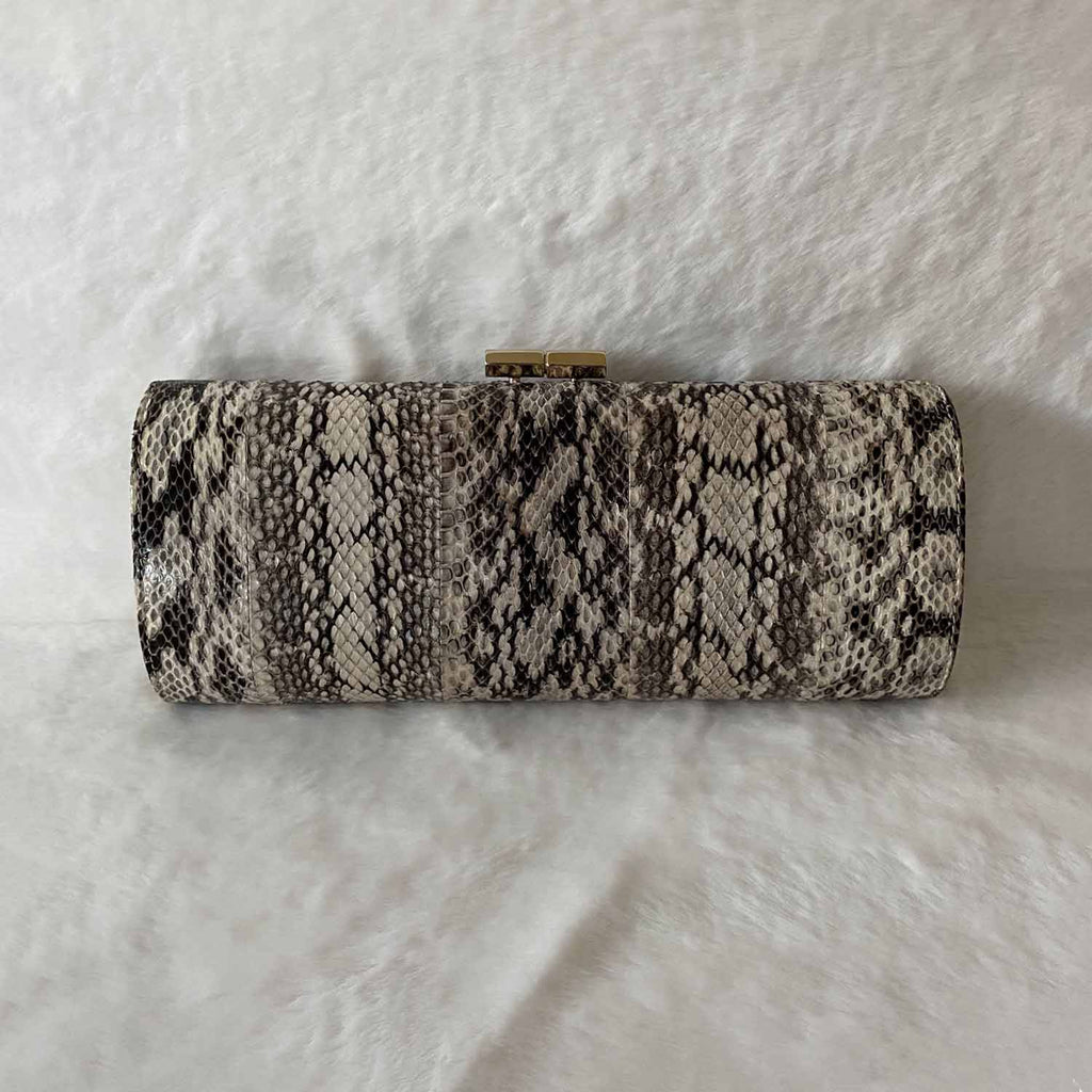 Jimmy Choo Water Snake Skin Clutch