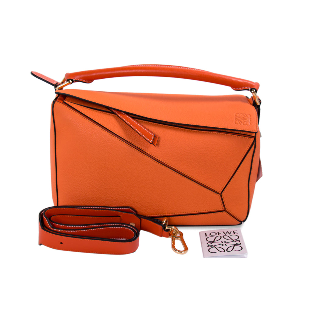 Loewe Small Puzzle Shoulder Bag Bags Loewe - Shop authentic new pre-owned designer brands online at Re-Vogue