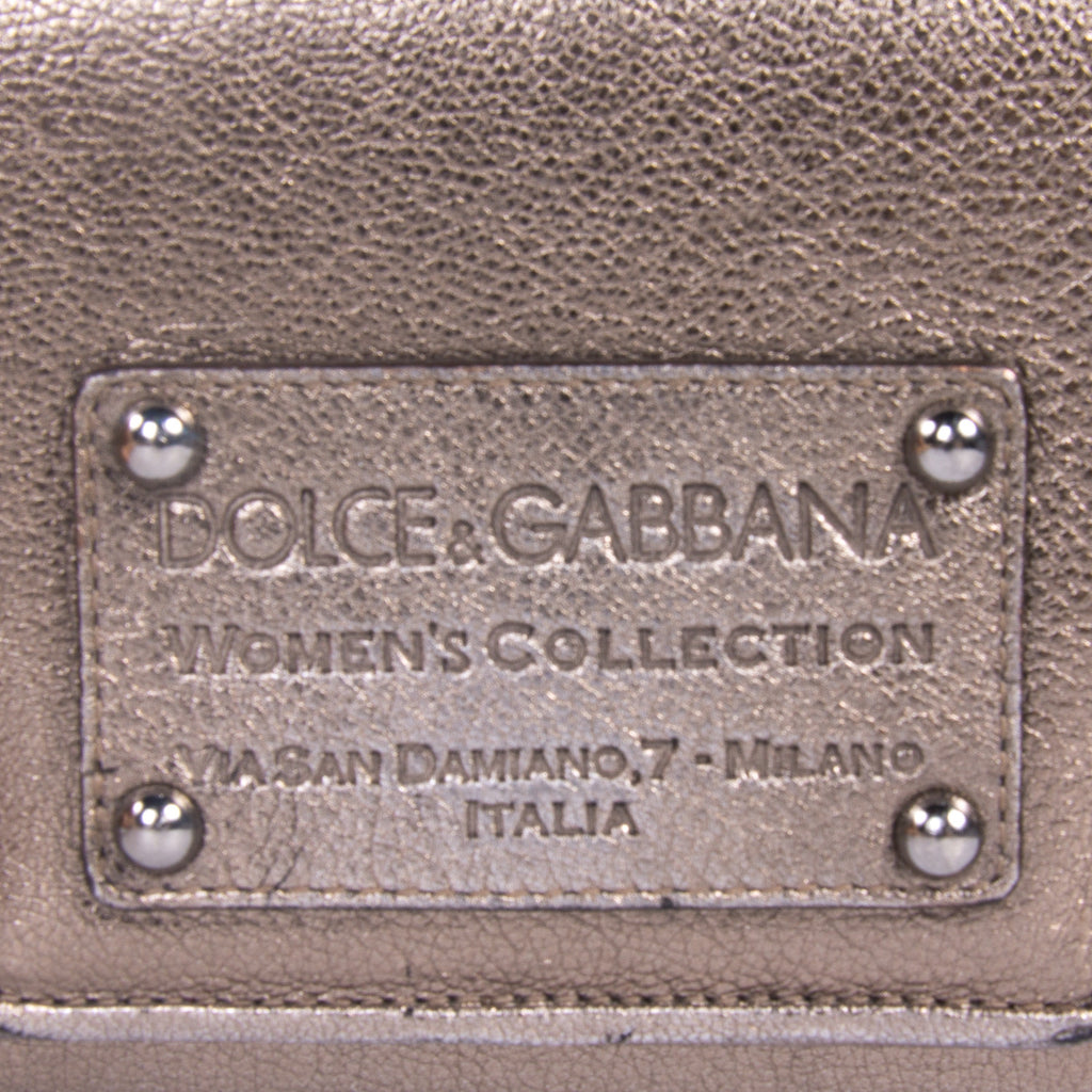 Dolce & Gabbana Metallic Shoulder Bag Bags Dolce & Gabbana - Shop authentic new pre-owned designer brands online at Re-Vogue