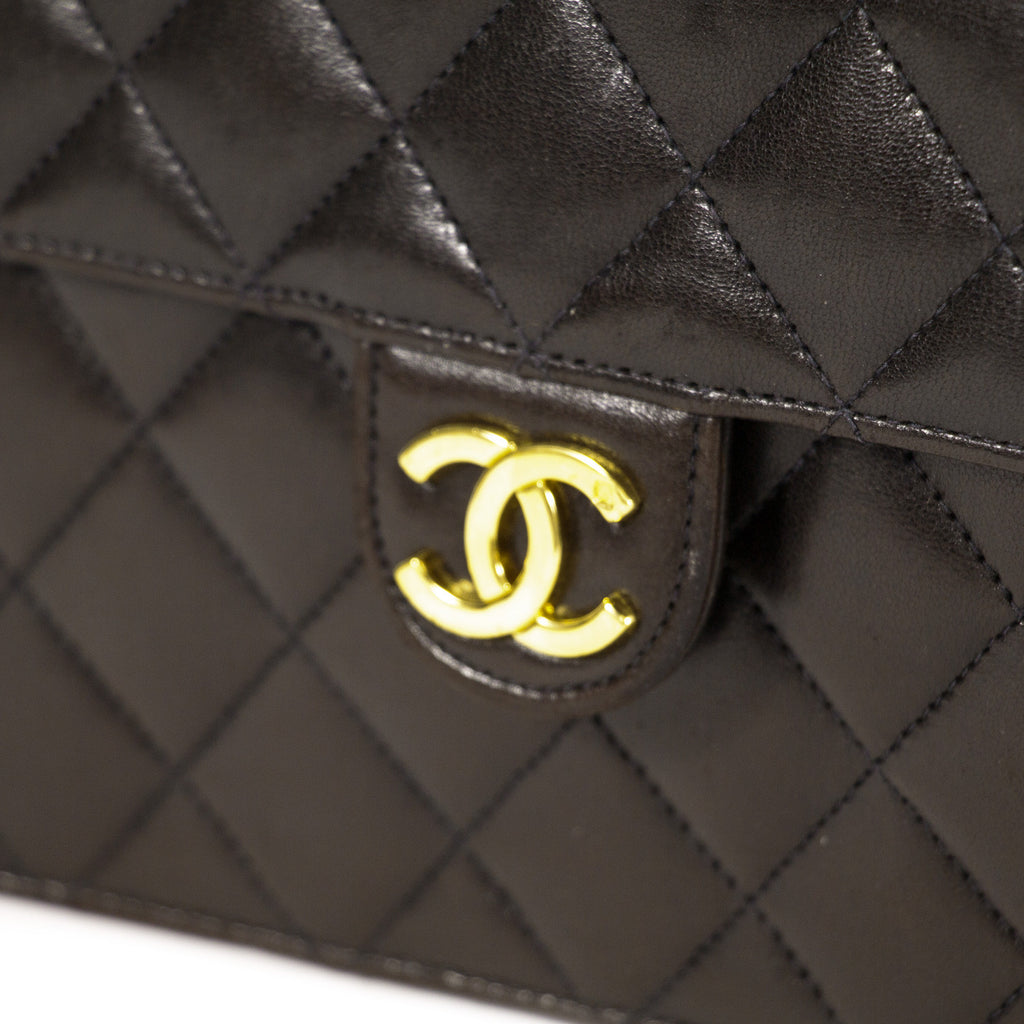 Chanel Black Chain Quilted Bag