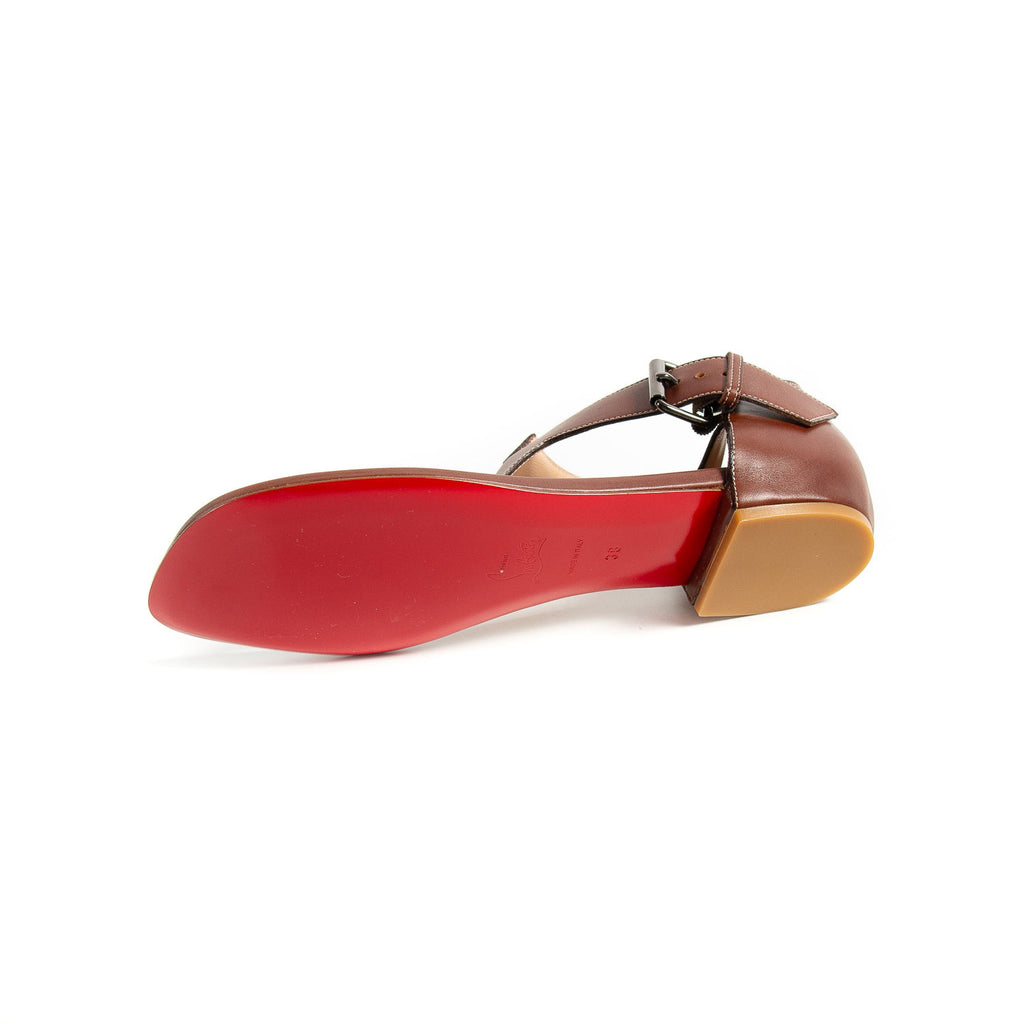 Christian Louboutin Leather Sandals Shoes Christian Louboutin - Shop authentic new pre-owned designer brands online at Re-Vogue