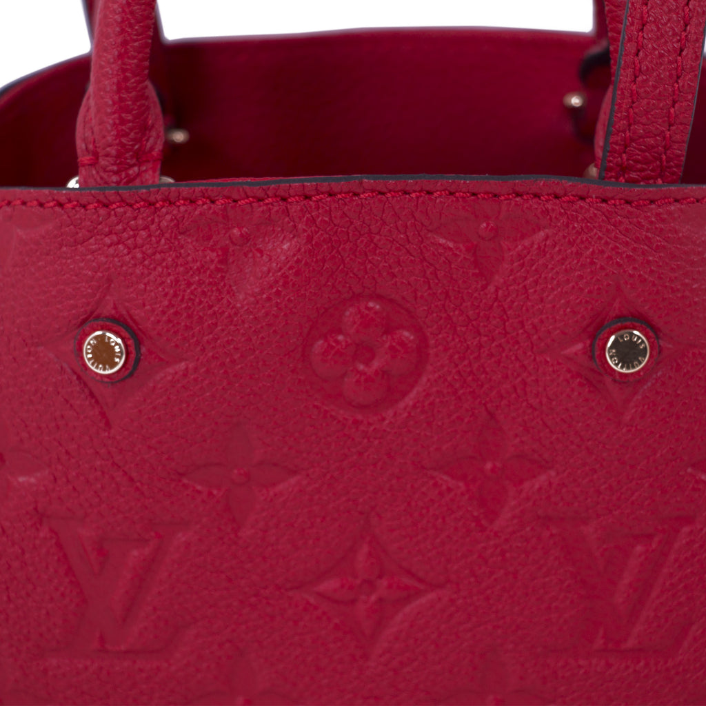 Louis Vuitton Monogram Empreinte Montaigne Nano Bags Louis Vuitton - Shop authentic new pre-owned designer brands online at Re-Vogue