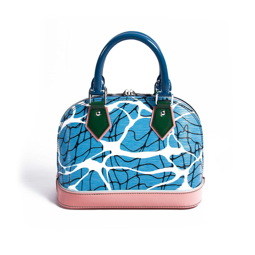 Louis Vuitton Aqua Print Epi Alma BB Bags Louis Vuitton - Shop authentic new pre-owned designer brands online at Re-Vogue