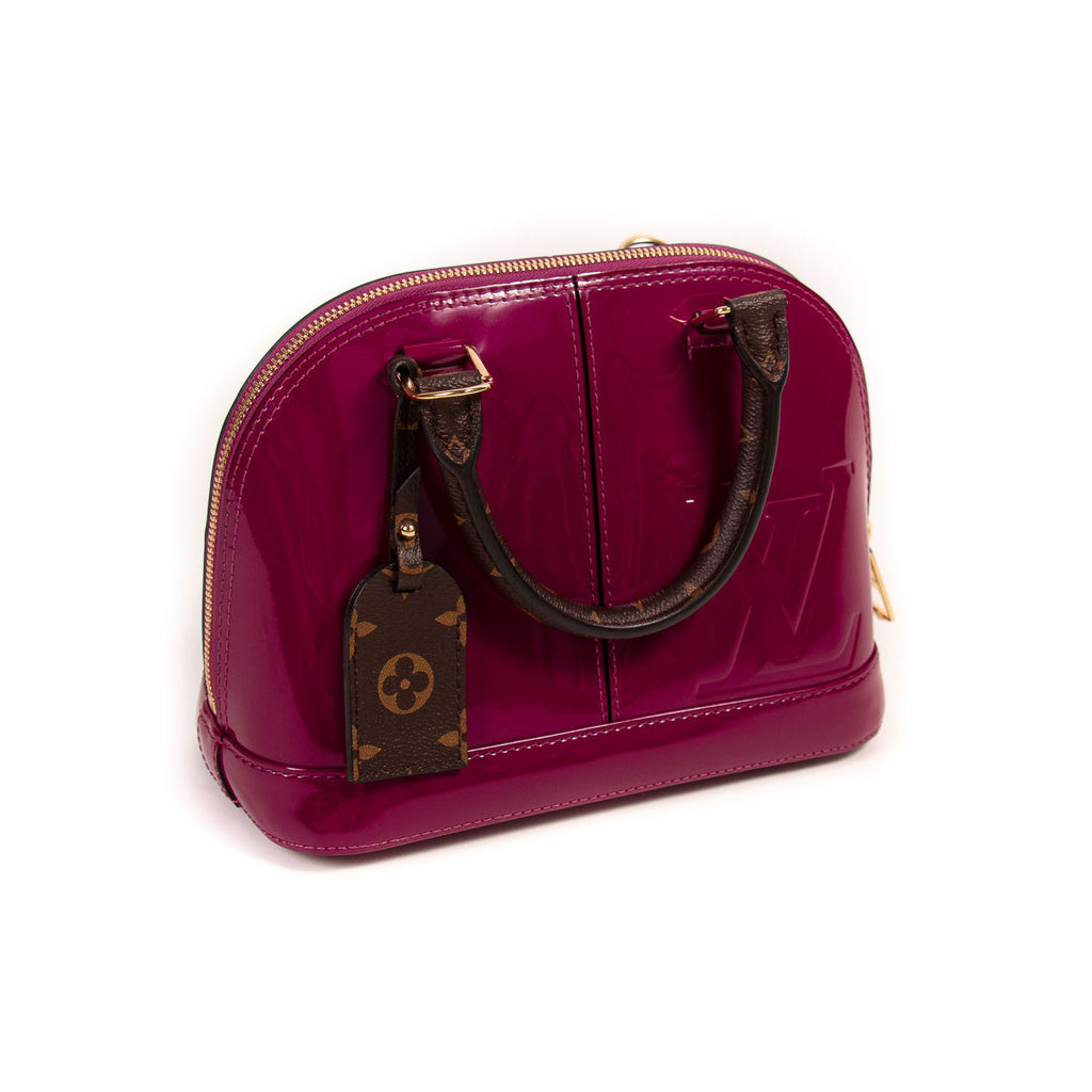 Louis Vuitton Vernis Alma BB Bags Louis Vuitton - Shop authentic new pre-owned designer brands online at Re-Vogue