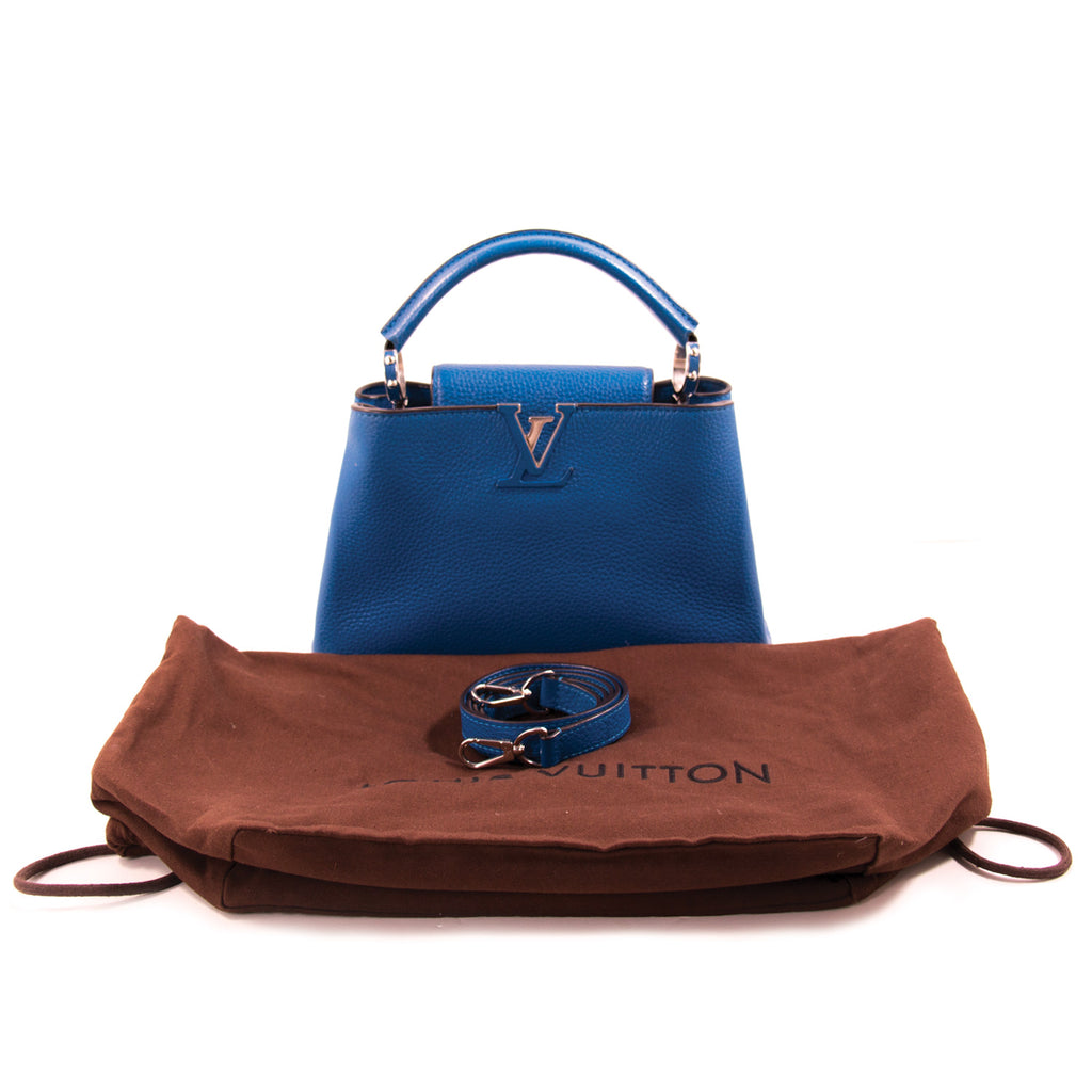 Louis Vuitton Taurillon Capucines BB Bags Louis Vuitton - Shop authentic new pre-owned designer brands online at Re-Vogue