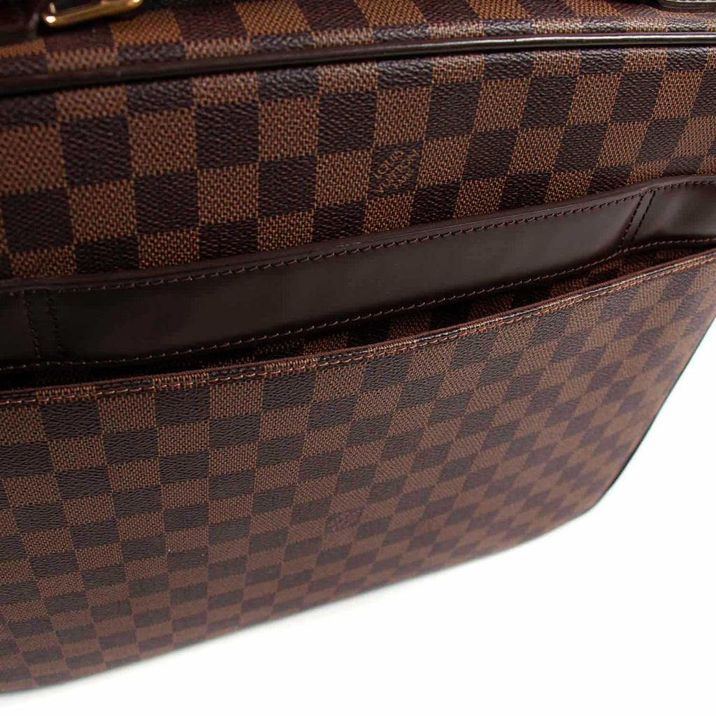 Louis Vuitton Damier Ebene Sabana Briefcase Bags Louis Vuitton - Shop authentic new pre-owned designer brands online at Re-Vogue