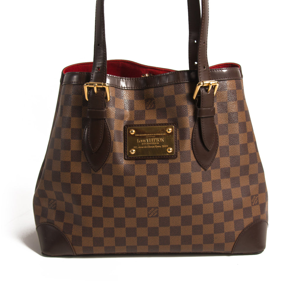 Louis Vuitton Hampstead MM Damier Ebene Bags Louis Vuitton - Shop authentic new pre-owned designer brands online at Re-Vogue