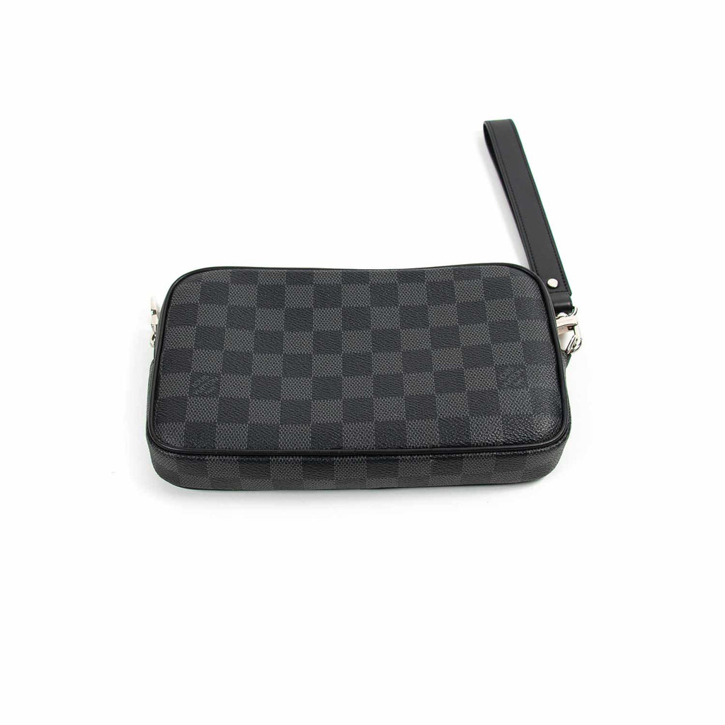Louis Vuitton Damier Graphite Alpha Clutch Accessories Louis Vuitton - Shop authentic new pre-owned designer brands online at Re-Vogue