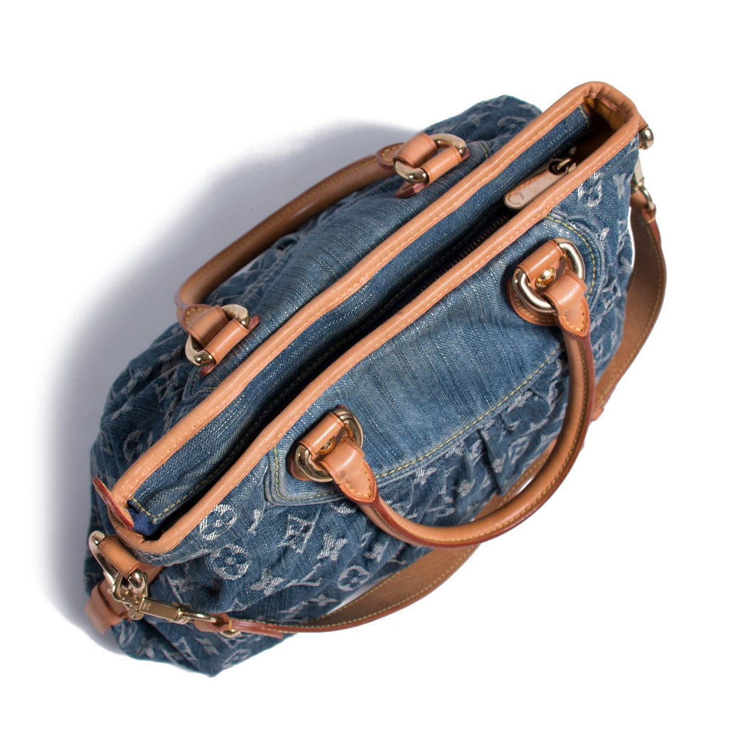 Louis Vuitton Monogram Denim Cabby MM Bags Louis Vuitton - Shop authentic new pre-owned designer brands online at Re-Vogue