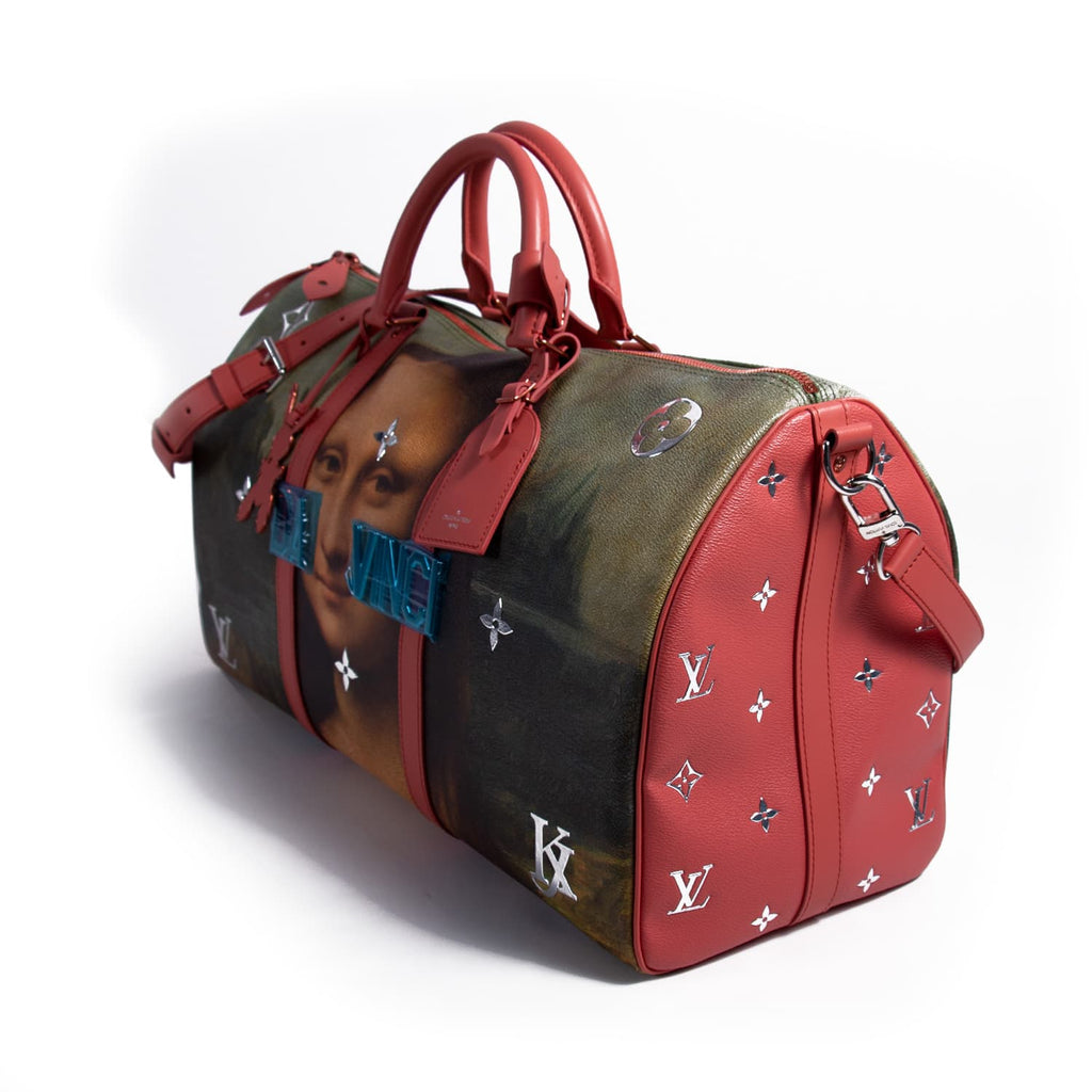 Louis Vuitton Jeff Koons Mona Lisa Keepall 50 Bags Louis Vuitton - Shop authentic new pre-owned designer brands online at Re-Vogue