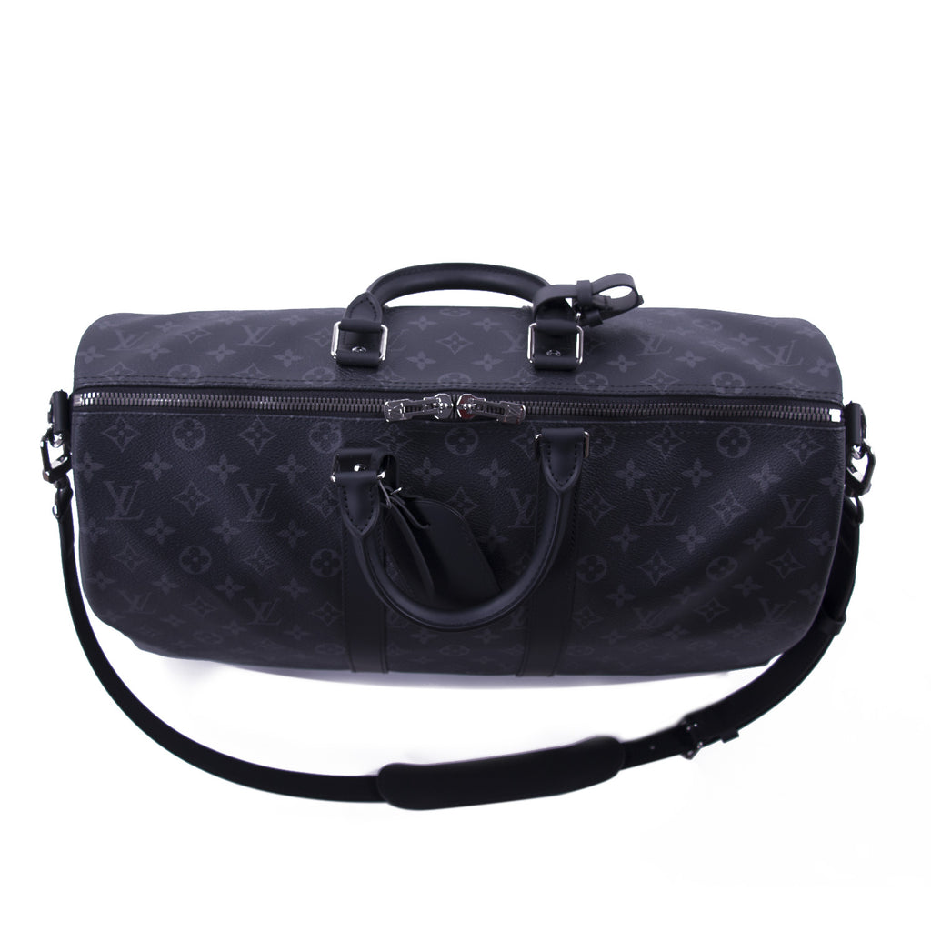 Louis Vuitton Eclipse Keepall 45 Bandouliere Bags Louis Vuitton - Shop authentic new pre-owned designer brands online at Re-Vogue
