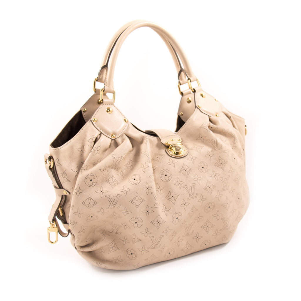 Louis Vuitton Monogram Mahina L Hobo Bag