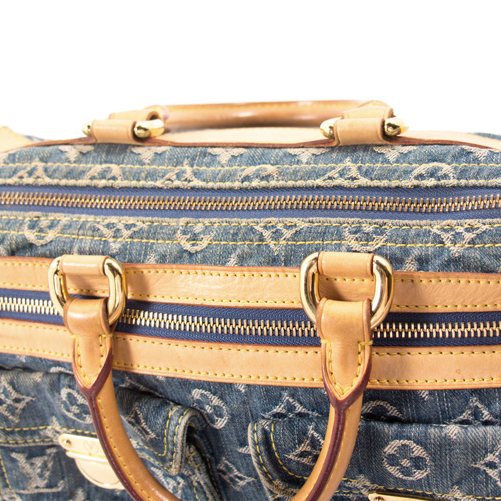 Louis Vuitton Monogram Denim Neo Speedy Bag Bags Louis Vuitton - Shop authentic new pre-owned designer brands online at Re-Vogue