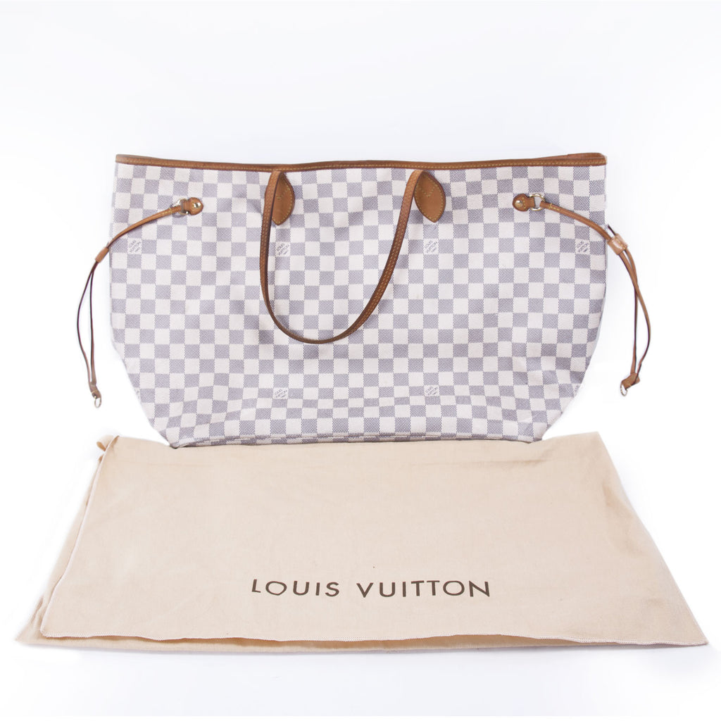 Louis Vuitton Damier Azur Neverfull GM Bags Louis Vuitton - Shop authentic new pre-owned designer brands online at Re-Vogue