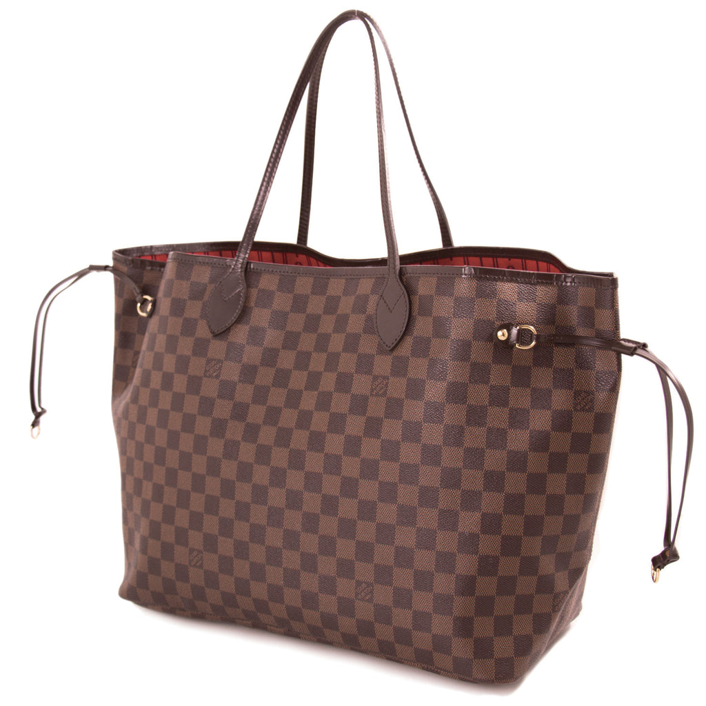 Louis Vuitton Damier Ebene Neverfull GM Bags Louis Vuitton - Shop authentic new pre-owned designer brands online at Re-Vogue