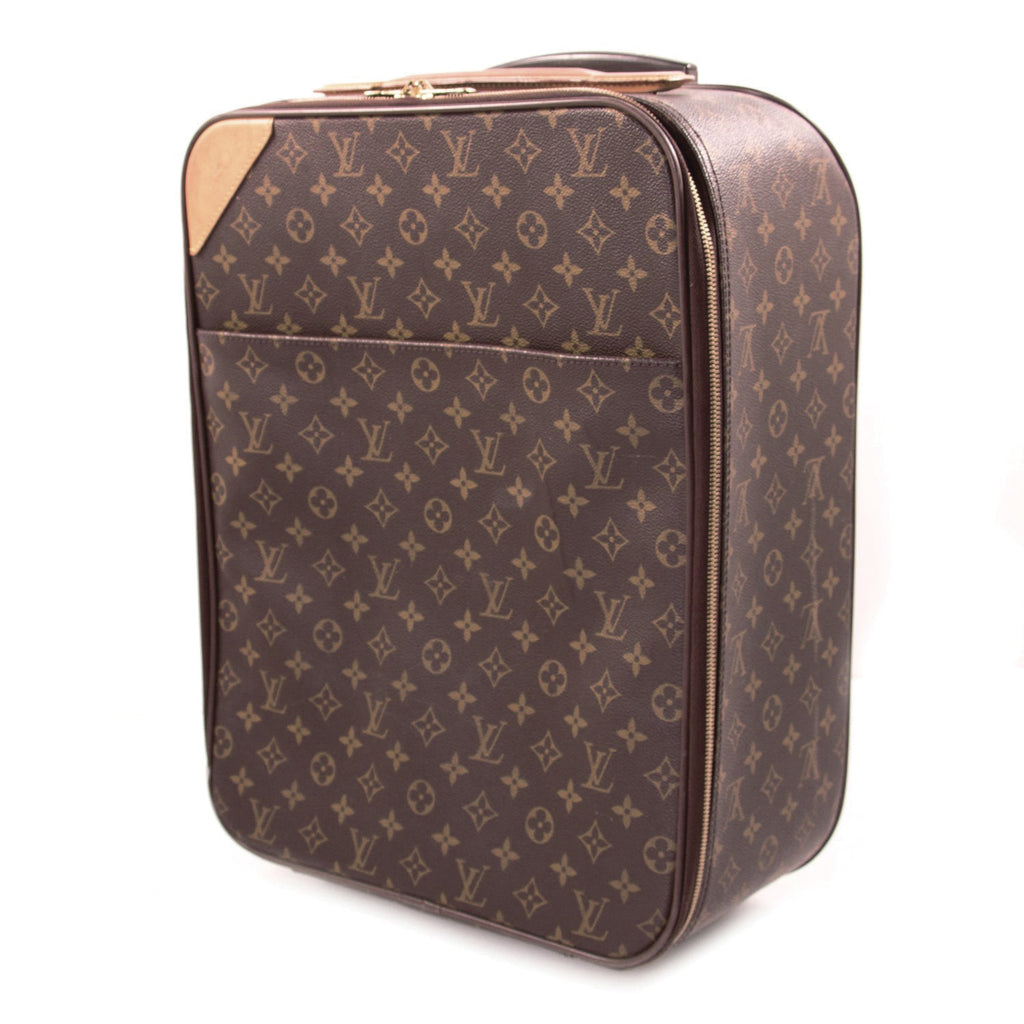 Louis Vuitton Monogram Pégase 45 Travel Bag