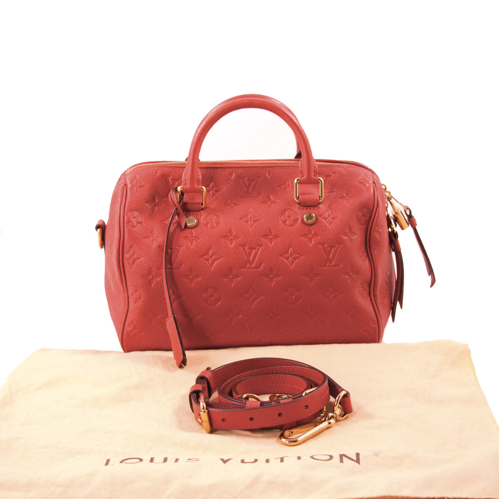 Louis Vuitton Monogram Empreinte Speedy 25 Bags Louis Vuitton - Shop authentic new pre-owned designer brands online at Re-Vogue
