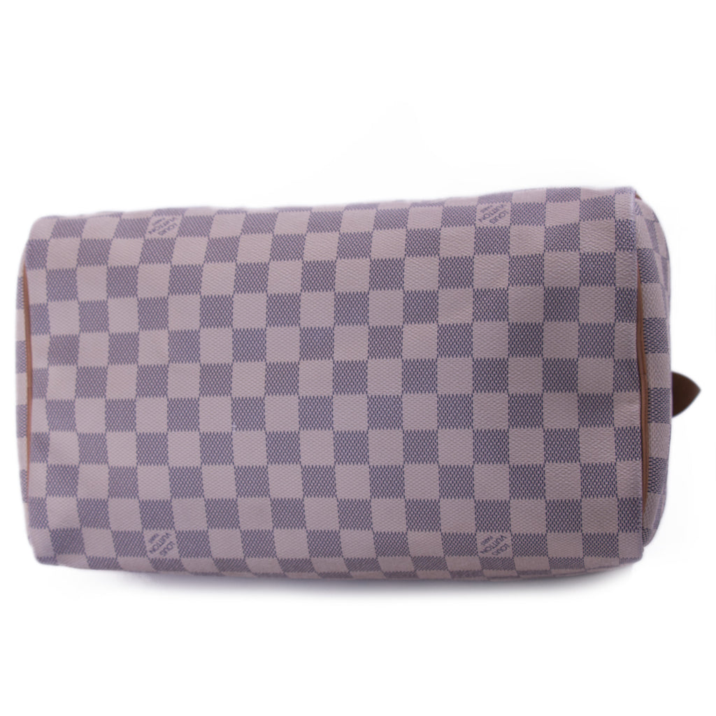 Louis Vuitton Damier Azure Speedy 30 Bags Louis Vuitton - Shop authentic new pre-owned designer brands online at Re-Vogue