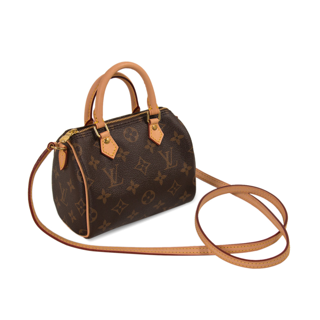 Louis Vuitton Monogram Nano Speedy Bags Louis Vuitton - Shop authentic new pre-owned designer brands online at Re-Vogue