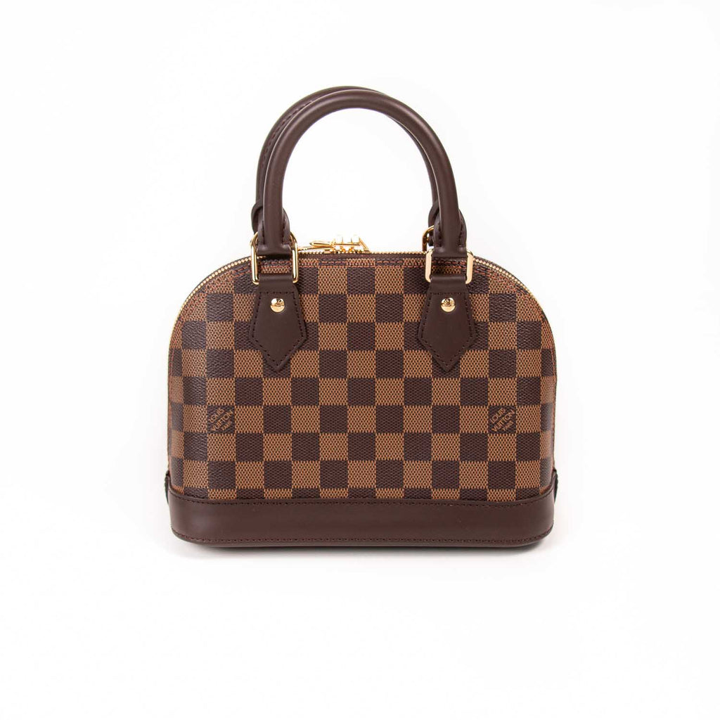 Louis Vuitton Damier Ebene Alma BB Bags Louis Vuitton - Shop authentic new pre-owned designer brands online at Re-Vogue