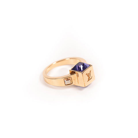 Cartier Yellow Gold Juste Un Clou Diamond Ring