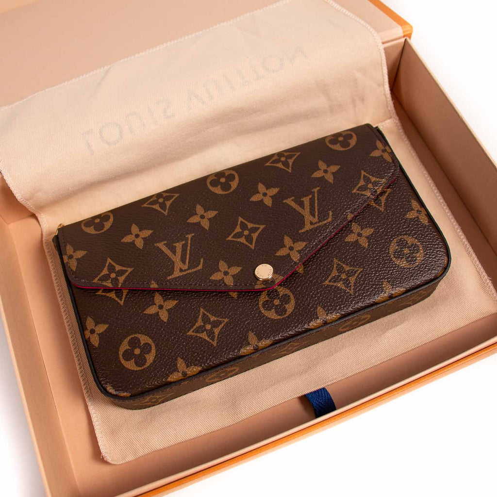 Louis Vuitton Monogram Pochette Félicie Bags Louis Vuitton - Shop authentic new pre-owned designer brands online at Re-Vogue