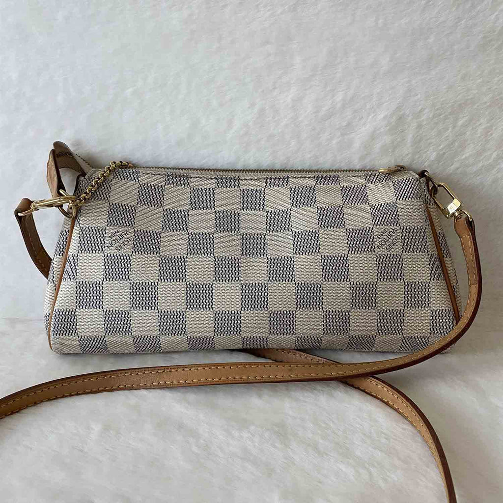 Louis Vuitton Damier Azur Eva Clutch