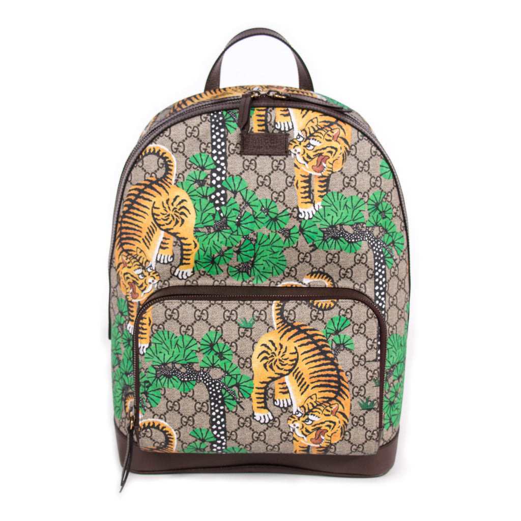 1cd6cfcd3f2 Gucci Bengal GG Supreme Backpack Bags Gucci - Shop authentic new pre-owned  designer brands