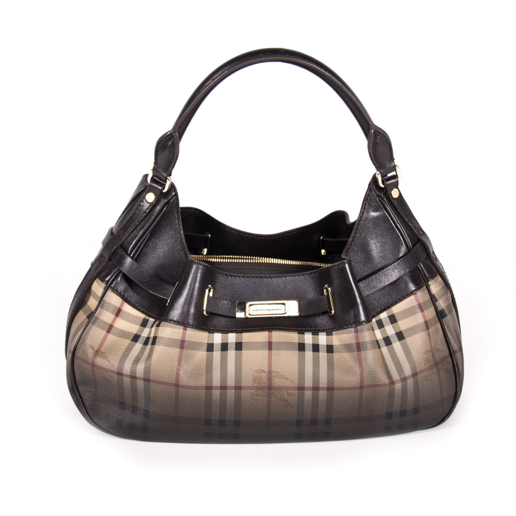 5e207c7027b Burberry Limited Edition Haymarket Hobo Bags Burberry - Shop authentic new  pre-owned designer brands. Burberry Limited ...