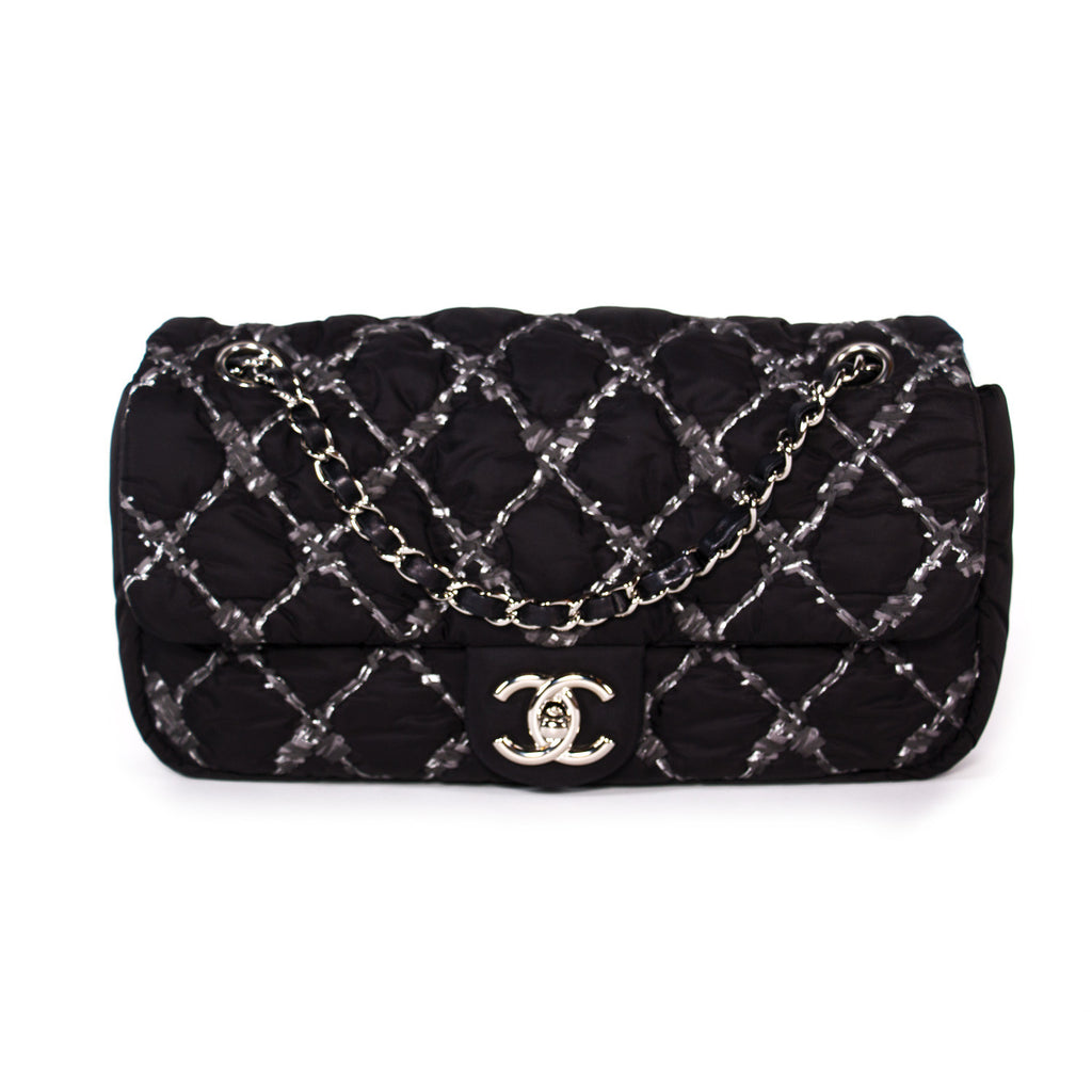 084dc6fb0b28 Chanel Nylon Tweed Stitch Bubble Flap Bags Chanel - Shop authentic new  pre-owned designer