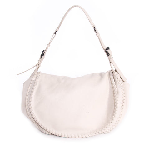 Gucci Bamboo Leather Hobo Bag