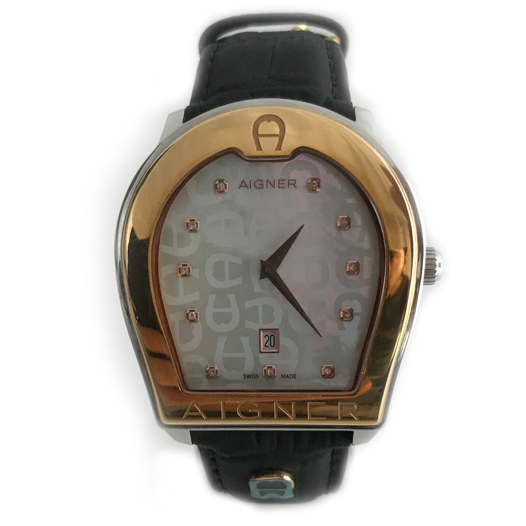 2f544acdb3c1b Shop authentic Aigner Verona Mens Watch at revogue for just USD 800.00