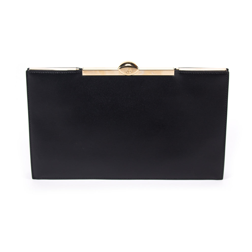 Shop authentic Christian Dior Box Clutch Bag at revogue for just USD ... 2109a397fbf08