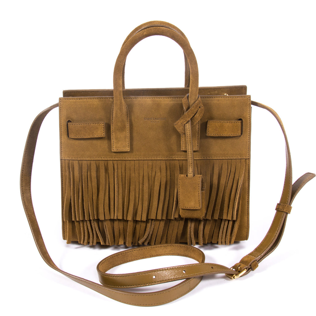 Saint Laurent Sac De Jour Nano Bags Yves Saint Laurent - Shop authentic new pre-owned designer brands online at Re-Vogue