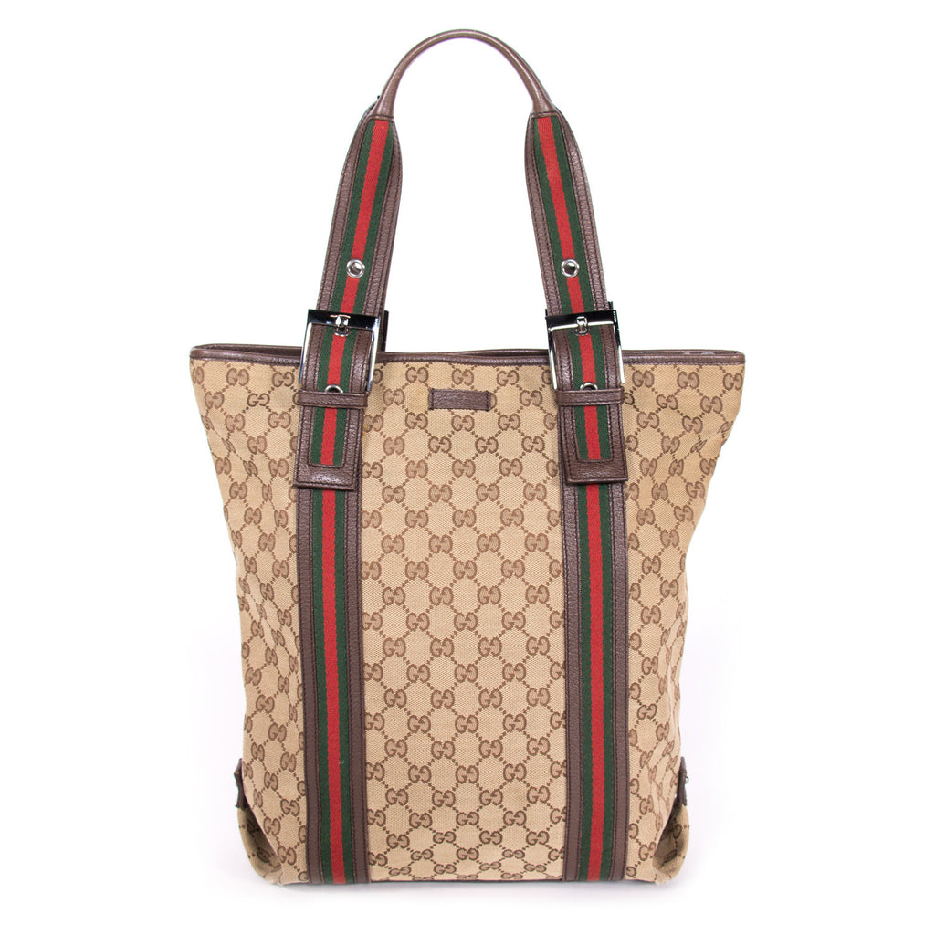 4862b5b47ff Gucci GG Canvas Tote Bags Gucci - Shop authentic new pre-owned designer  brands online