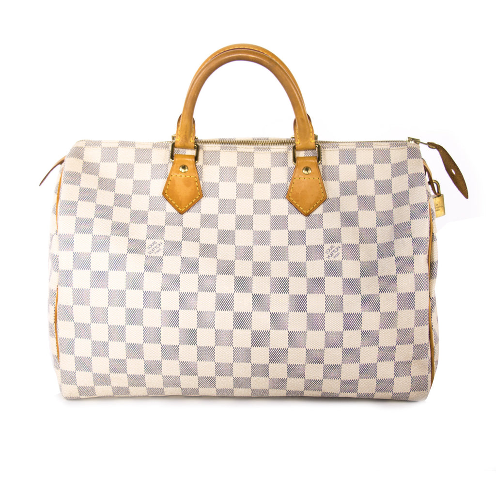 Louis Vuitton Damier Azure Speedy 35
