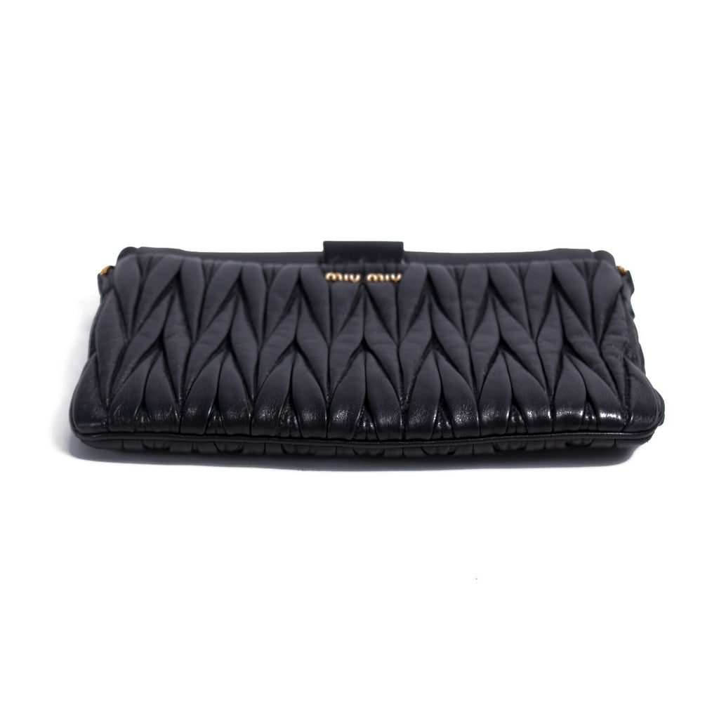 Miu Miu Metalassé Cross Body Bag Bags Miu Miu - Shop authentic new pre-owned designer brands online at Re-Vogue