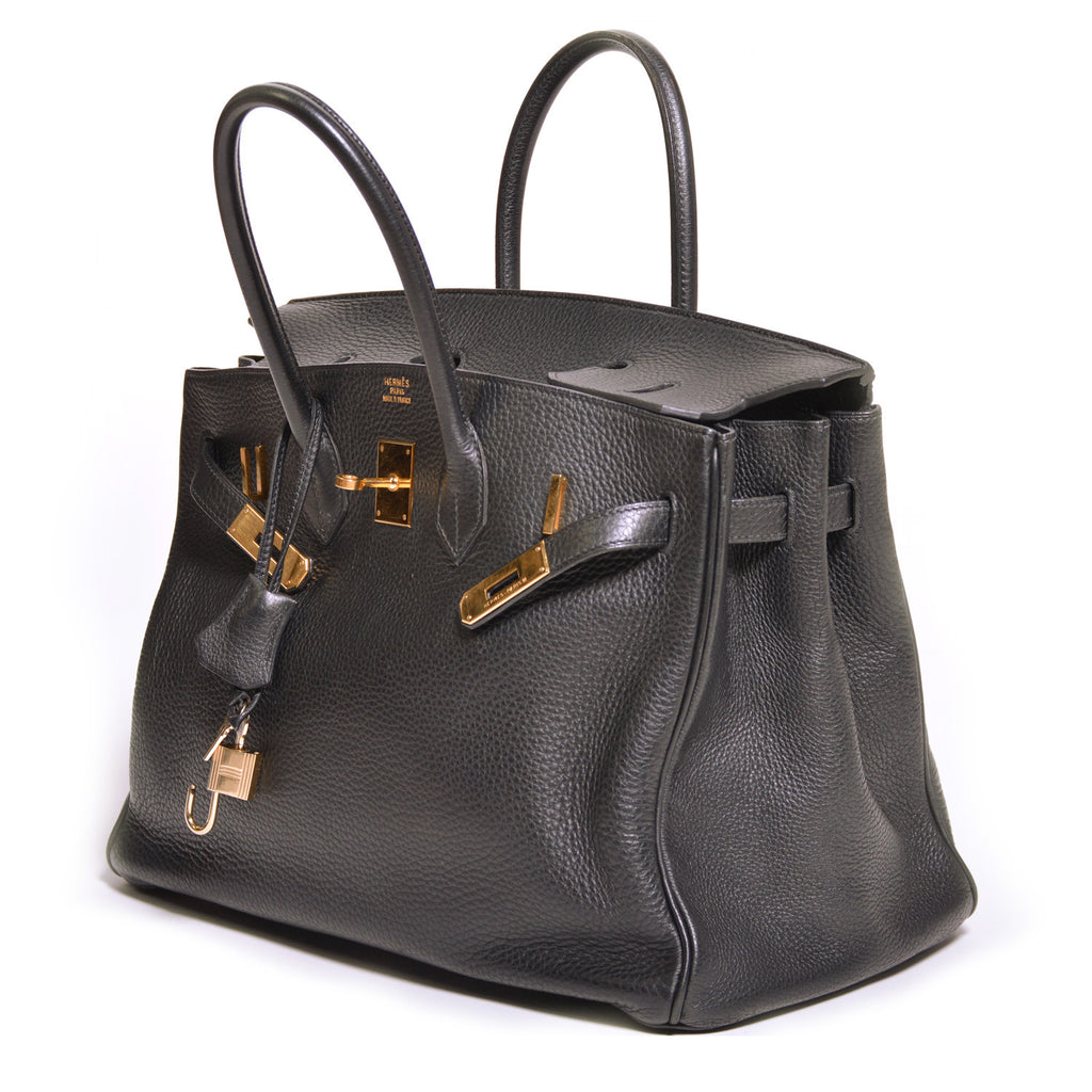 Hermes Birkin Bag 35 -Shop pre-owned luxury designer brands on discount online at Re-Vogue