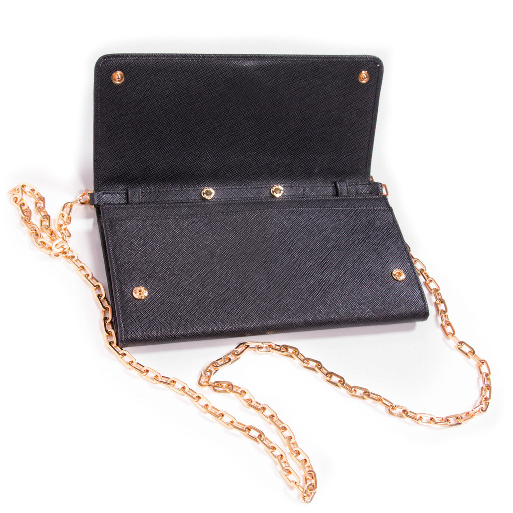 Prada Leather Chain Wallet Bags Prada - Shop authentic new pre-owned designer brands online at Re-Vogue