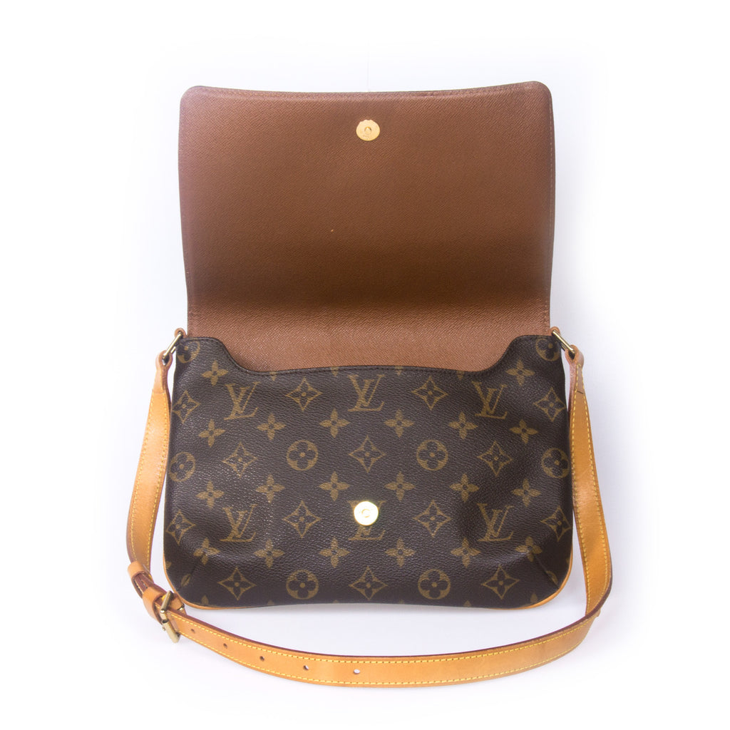 Louis Vuitton Musette Tango Bag -Shop pre-owned luxury designer brands on discount online at Re-Vogue