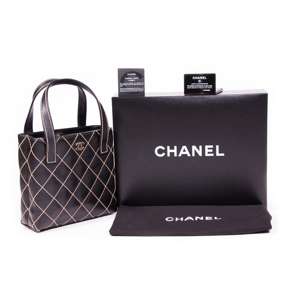 616b6dc5f550 Chanel Quilted Surpique Bag Bags Chanel - Shop authentic new pre-owned  designer brands online ...