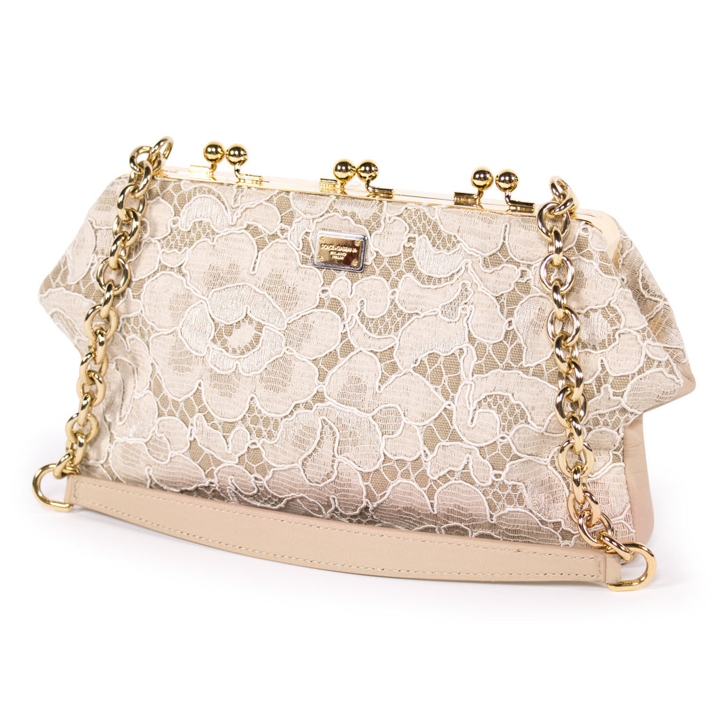 Dolce & Gabbana Floral Fabric Bag Bags Dolce & Gabbana - Shop authentic new pre-owned designer brands online at Re-Vogue