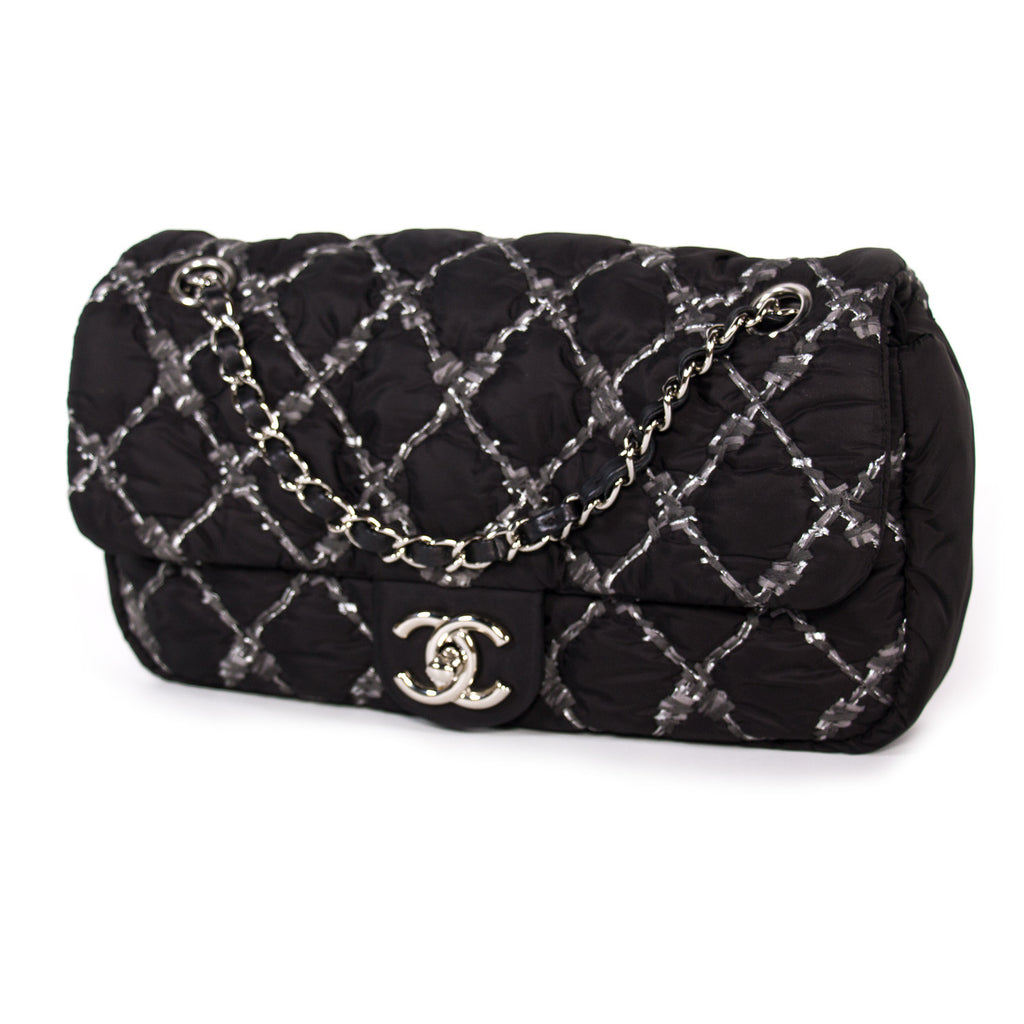 2af6699d8d93 ... Chanel Nylon Tweed Stitch Bubble Flap Bags Chanel - Shop authentic new  pre-owned designer ...