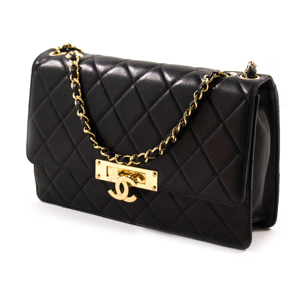 Chanel Golden Class Large Flap Bag Bags Chanel - Shop authentic new pre-owned designer brands online at Re-Vogue