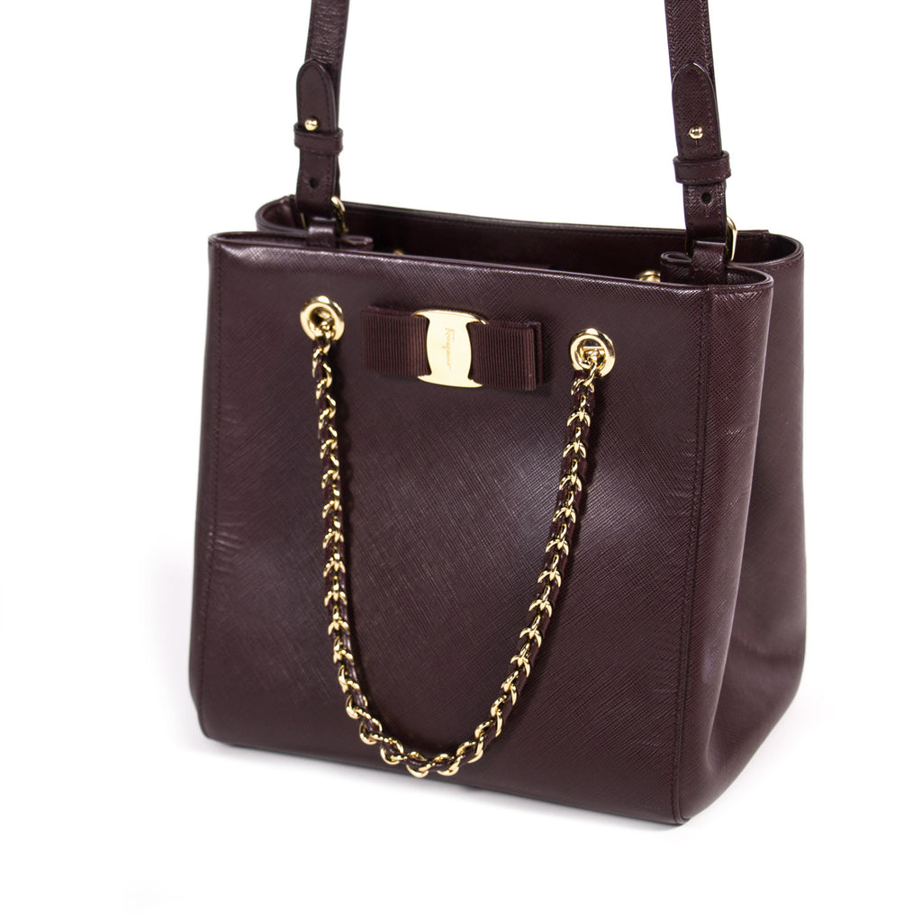 Salvatore Ferragamo Vany Tote Bag Bags Salvatore Ferragamo - Shop authentic new pre-owned designer brands online at Re-Vogue