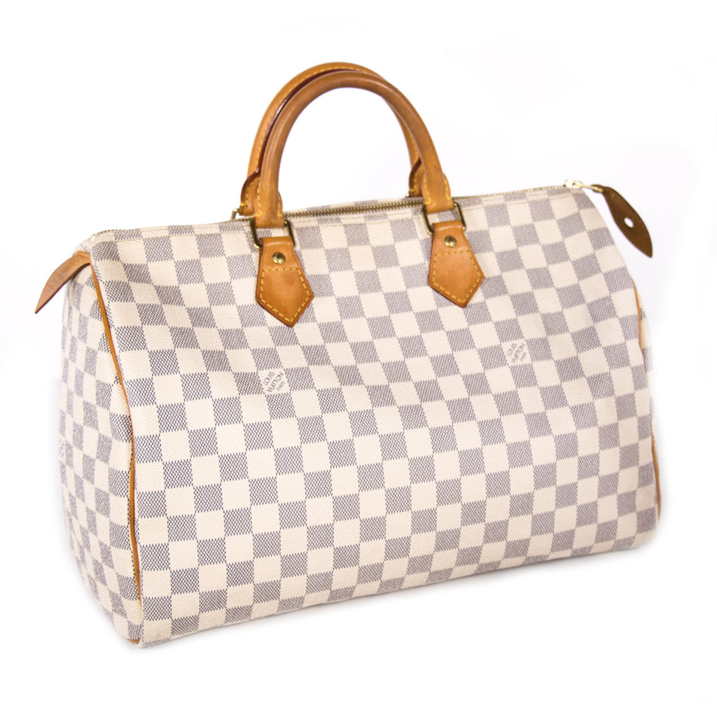 Louis Vuitton Damier Azure Speedy 35 Bags Louis Vuitton - Shop authentic new pre-owned designer brands online at Re-Vogue